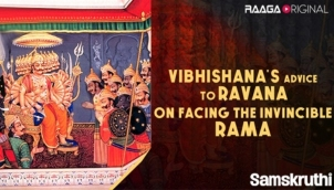 Vibhishana's advice to Ravana on facing the invincible Rama