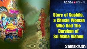 Story of Sushila, a chaste woman who had the darshan of Sri Maha Vishnu