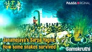 Janamejaya's Sarpa Yagna: How some snakes survived