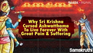 Why Sri Krishna Cursed Ashwatthama To Live Forever With Great Pain & Suffering