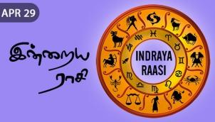 Indraya Raasi - Apr 29