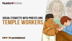 Social etiquette with Priests and temple workers