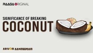 Significance of Breaking Coconut
